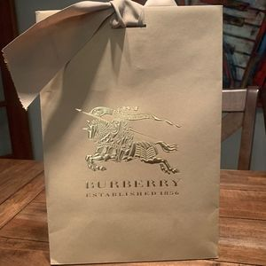 Burberry Shopping Bag